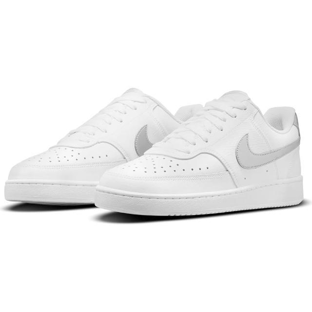【NIKE 耐吉】休閒鞋 女鞋 運動鞋 WMNS COURT VISION LOW 白灰 CD5434-111