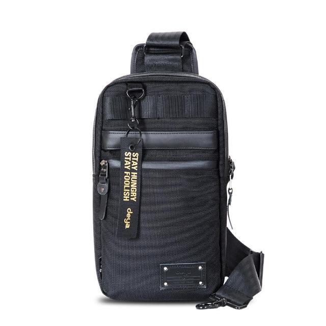 【deya】Smart 斯馬特 單肩斜跨抗菌酷包(黑色)