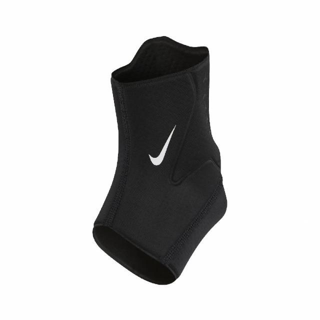 【NIKE 耐吉】護踝 Pro Ankle Sleeve 男女款 護具 運動 籃球 腳踝 吸濕排汗 透氣 黑 白(N1000677-010)