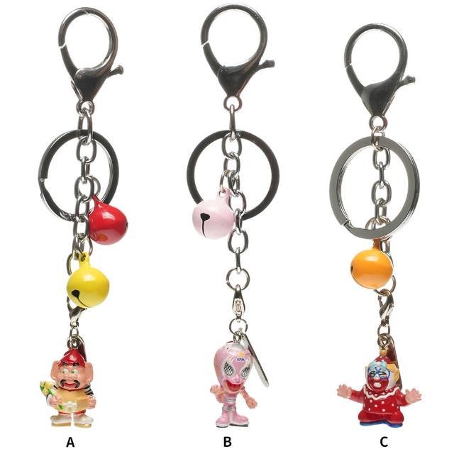 【TDL】日本摔角人物EBESSAN KUISHIN戴小丑面具娃娃公仔鑰匙圈掛飾交換禮物首選 606035