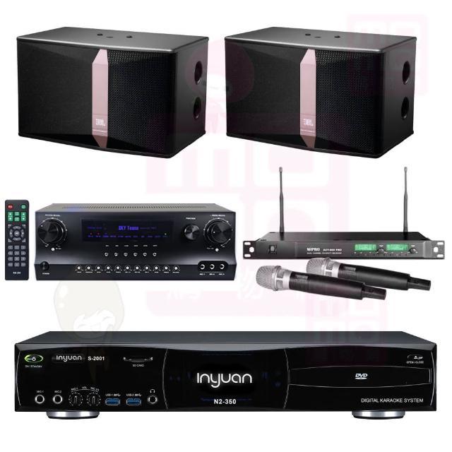 【音圓】點歌機4TB+擴大機+無線麥克風+喇叭(S-2001 N2-350+DW1+ACT-869PRO+JBL Ki512)