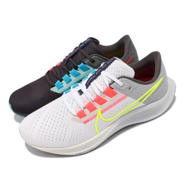 【NIKE 耐吉】慢跑鞋 Zoom Pegasus 38 LE 男鞋 氣墊 舒適 避震 路跑 健身 鴛鴦配色 灰 白(DJ3128-001)