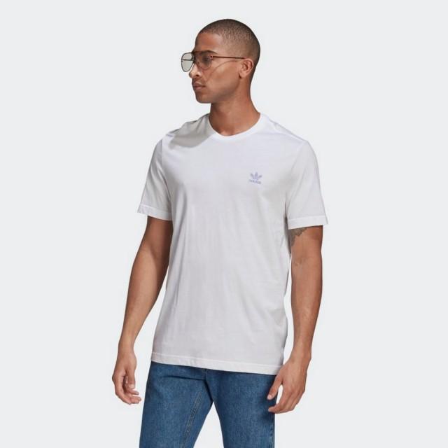 【adidas 愛迪達】短袖上衣 ESSENTIAL TEE 男款 白色(GN3405)