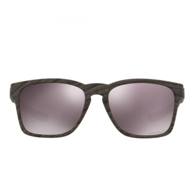 【Oakley】Catalyst黑色特殊鏡框運動太陽眼鏡(9272-2055)