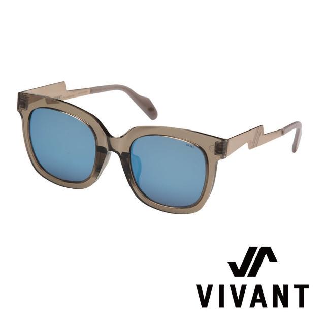 【VIVANT】韓國 潮流質感大框 顯小臉 D OR太陽眼鏡(DOR CLEAR GREY - 透明灰色)