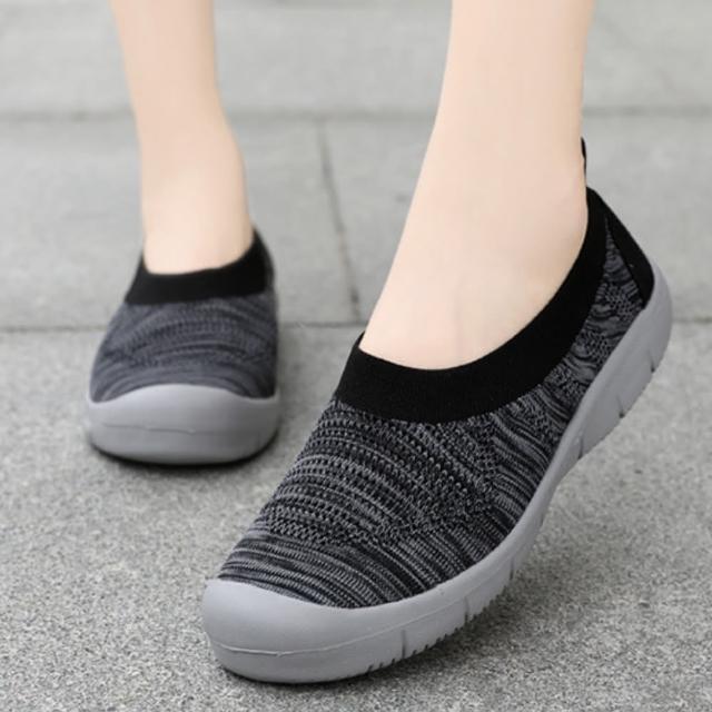 【LN】現+預 韓版淺口飛織透氣輕量休閒鞋(飛織/透氣/輕量/休閒鞋)