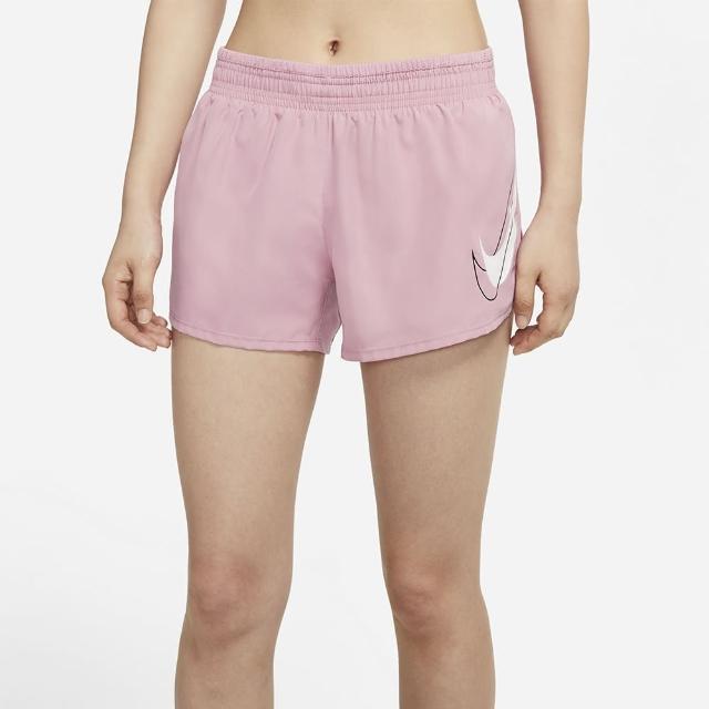 【NIKE 耐吉】短褲 女款 運動短褲 慢跑 AS W NK DF SWSH RUN SHORT 粉 DD4924-630
