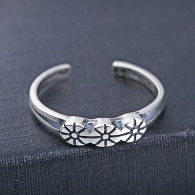 【米蘭精品】925純銀戒指鑲鑽銀飾(韓版流行復古時尚情人節生日禮物女飾品73dx36)