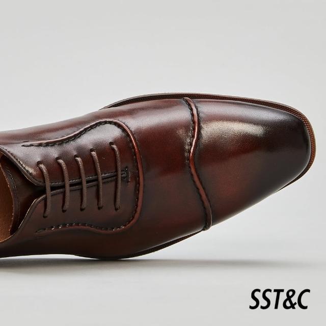 【SST&C】深咖啡色經典牛津鞋1312105005