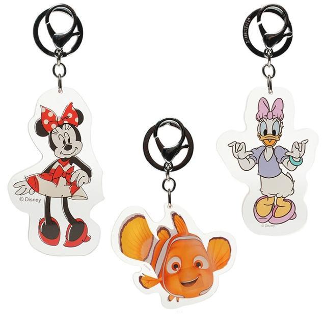 【TDL】迪士尼米妮戴西尼莫壓克力娃娃鑰匙圈掛飾禮物首選 GG03