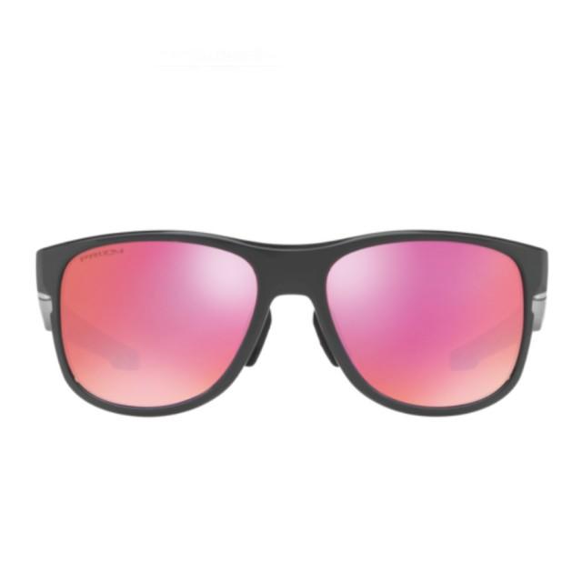 【Oakley】LATCH SQUARED Asian Fit 桃色鏡片運動太陽眼鏡(9369-0357)