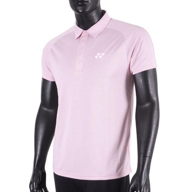 【YONEX】Yonex Polo 男 短袖 上衣 網球 運動 休閒 舒適 透氣 機能 吸汗 快乾 台製 粉(11031TR454)