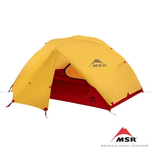 【MSR】Elixir 2人帳 含地布 金色(Elixir系列的帳篷一直我們最舒適的3季帳篷)