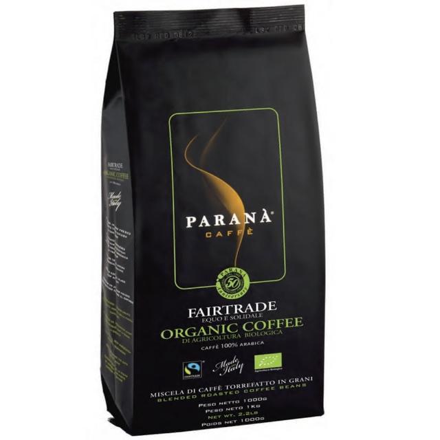【PARANA 義大利金牌咖啡】精品咖啡新鮮烘焙 有機公平交易咖啡豆 48公斤(有機認證、公平交易認證)