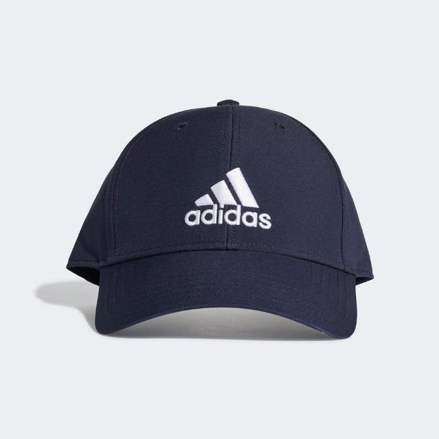 【adidas 愛迪達】Adidas Bballcap Lt Emb 男女 棒球帽 鴨舌帽 防曬 運動 休閒 潮流穿搭 藍(GE0759)