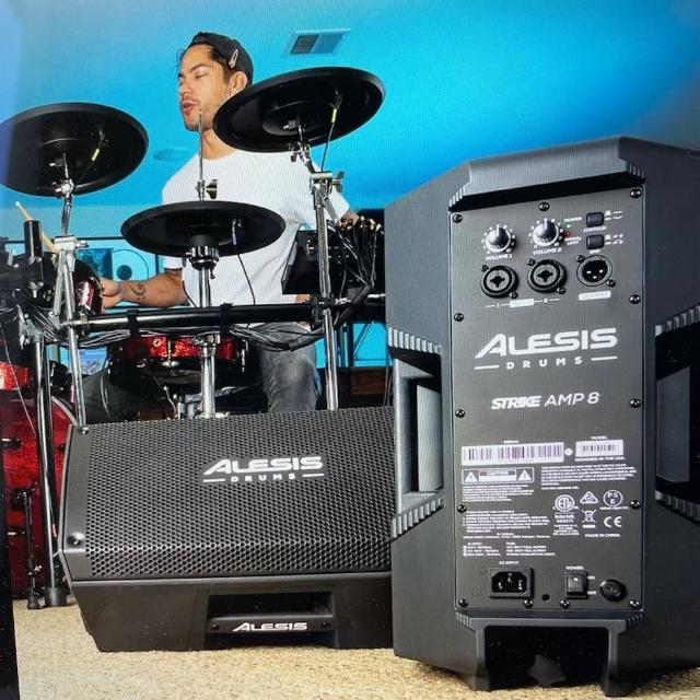 【ALESIS】AMP8 電子鼓 音箱(2000W 2021新產品 電鋼琴 電子琴 適用)