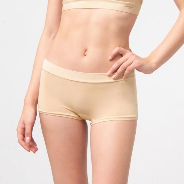 【sloggi】GO Allround全方位無限彈力系列 中腰平口褲 濃醇花生醬(87-2226 3L)