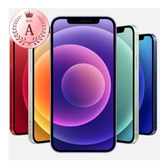 【Apple 蘋果】福利品 iPhone 12 mini 64G 5.4吋手機(電池100% 外觀無傷)