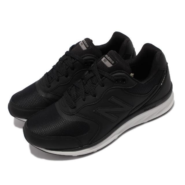 【NEW BALANCE】休閒鞋 880 Wide 寬楦 復古 女鞋 紐巴倫 皮革 GTX 緩震 耐磨膠底 黑 白(WW880GD4-D)
