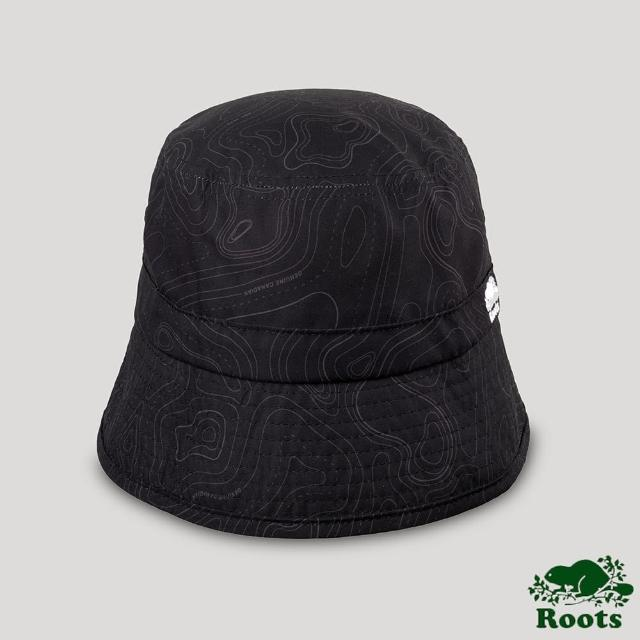 【Roots】Roots配件-開拓者系列 等高線元素漁夫帽(黑色)