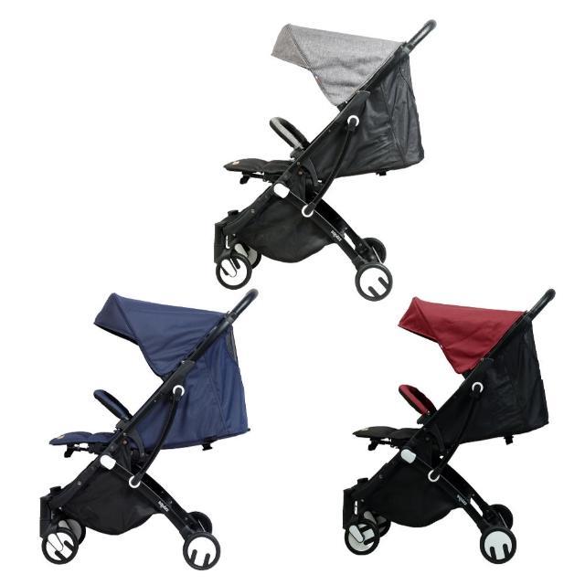 【Looping】Z19 SquizzIII Plus 行李式嬰兒推車-黑管含雨罩(多款可選)