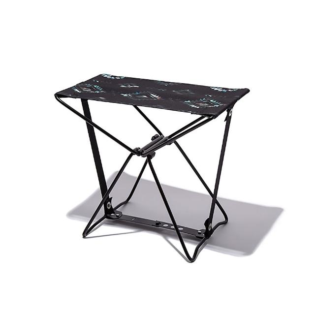 【KIU】日本KIU 隨身風格折疊凳 附收納袋(228184 波斯格紋)