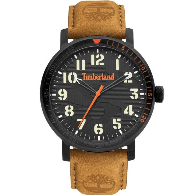 【Timberland】天柏嵐 都會時尚大三針手錶-44mm(TDWGA2101601)