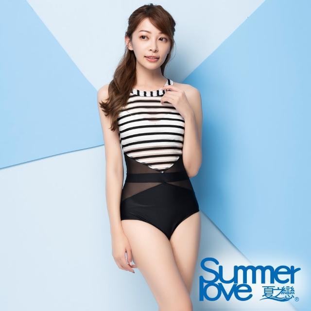 【Summer Love 夏之戀】泳裝 大女連身三角泳衣(E21705)