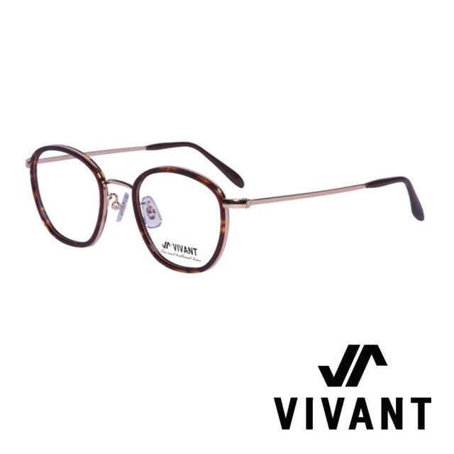 【VIVANT】韓國 個性圓框 文青光學眼鏡(.琥珀 neige C2)
