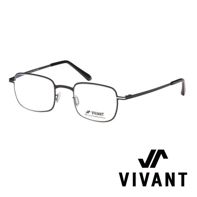 【VIVANT】韓國. 韓式精緻小方框 光學眼鏡(.黑 sentir C1)