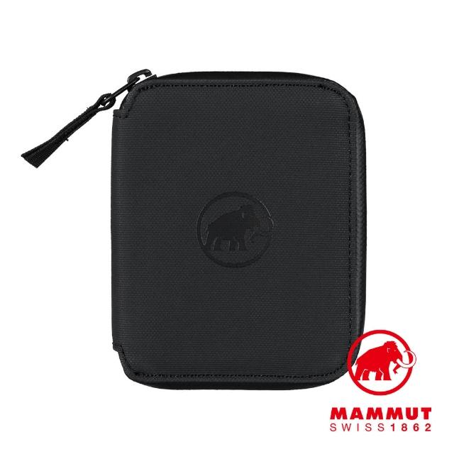 【Mammut 長毛象】Seon Zip Wallet 休閒拉鍊短夾 黑色 #2810-00081