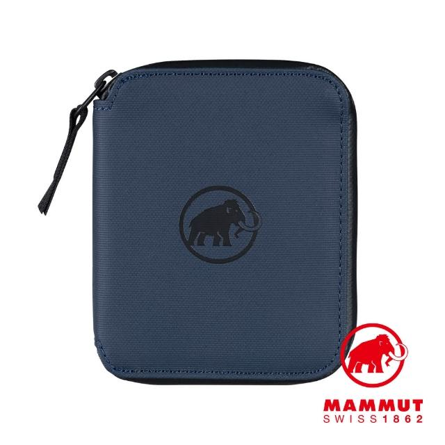 【Mammut 長毛象】Seon Zip Wallet 休閒拉鍊短夾 海洋藍 #2810-00081