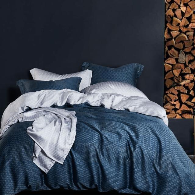 【情定巴黎】100%萊賽爾嫩柔天絲鋪棉兩用被床包組二選一(雙人-贈*專用洗滌袋)