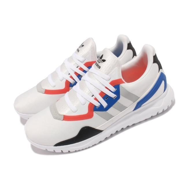 【adidas 愛迪達】休閒鞋 Originals Flex J 運動 女鞋 愛迪達 大童鞋 襪套 輕量 包覆 穿搭 白 黑(FX5321)