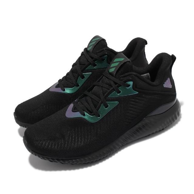 【adidas 愛迪達】慢跑鞋 Alphabounce EK 運動 男鞋 愛迪達 輕量 透氣 Bounce避震 健身 黑(GY5404)