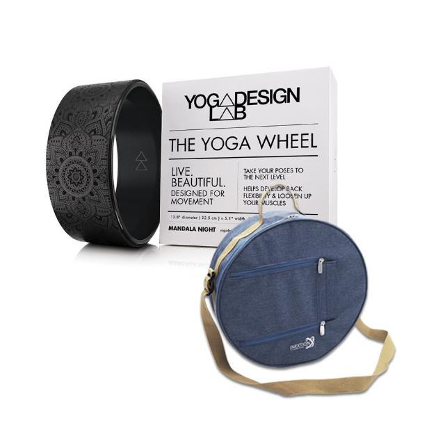 【Yoga Design Lab】瑜珈輪+INEXTION揹袋輕鬆帶著走組合(瑜珈輪兩款任選)