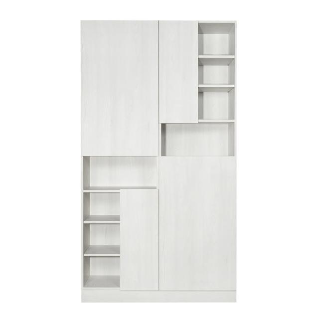 【Arkhouse】伯利恆系列-餐廳造型組合雙高櫃A款W120*H218*D40