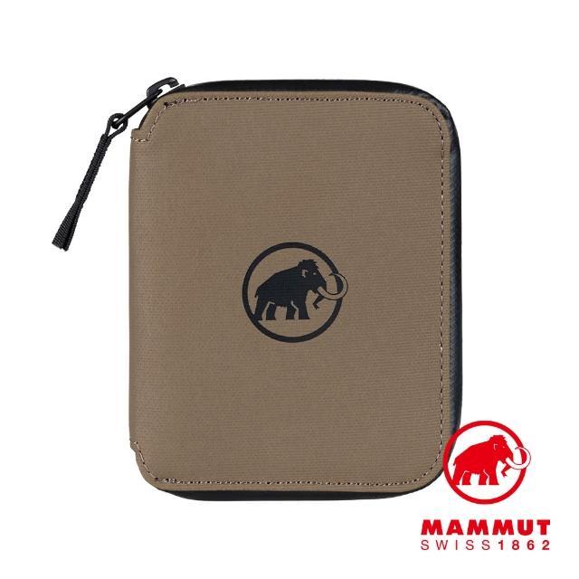 【Mammut 長毛象】Seon Zip Wallet 休閒拉鍊短夾 深土棕 #2810-00081