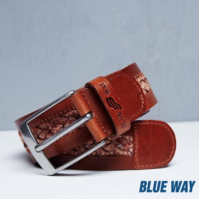 【BLUE WAY】BW編織皮帶 -BLUE WAY
