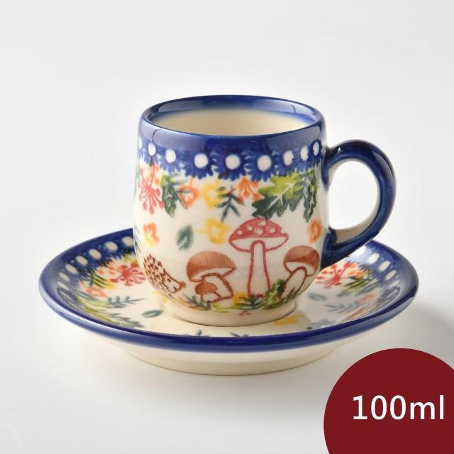 【波蘭陶】綠野仙蹤系列 濃縮咖啡杯盤組 100ml