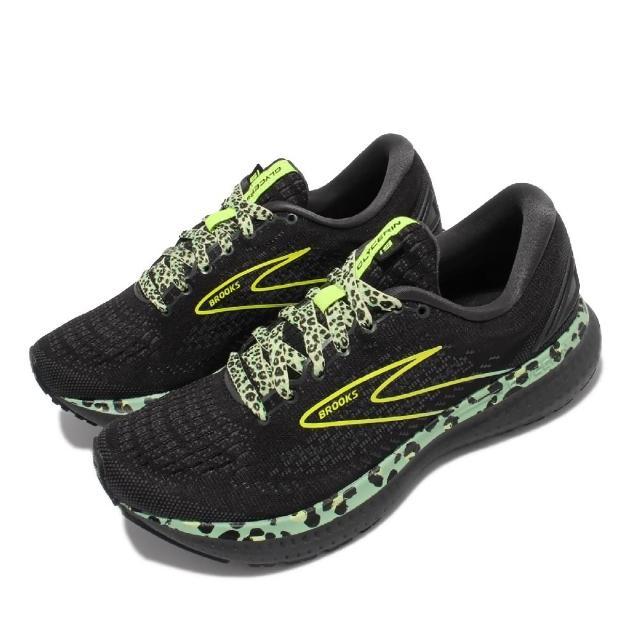 【BROOKS】慢跑鞋 Glycerin 19 運動休閒 女鞋 甘油系列 平穩型 柔軟 避震 回彈 耐用 黑 黃(1203431B029)