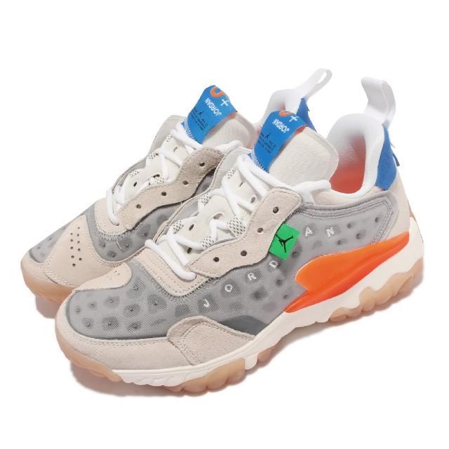 【NIKE 耐吉】休閒鞋 Jordan Delta 2 運動 男鞋 喬丹 異材質拼接 舒適 避震 休閒穿搭 灰 白(CV8121-004)