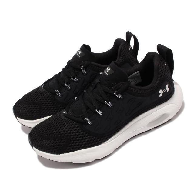 【UNDER ARMOUR】慢跑鞋 Hovr Revenant 運動 女鞋 輕量 透氣 舒適 避震 健身 球鞋 穿搭 黑 白(3024372003)