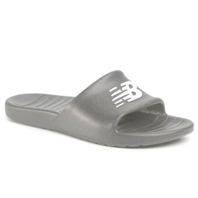 【NEW BALANCE】New Balance 男女款灰色休閒涼拖鞋-NO.SUF100TG