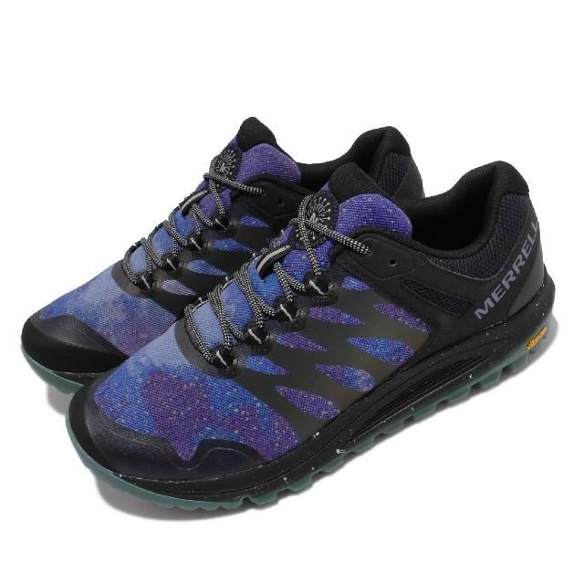 【MERRELL】慢跑鞋 Nova 2 Night Sky 反光 男鞋 可拆式鞋墊 彈性 透氣 耐磨 黃金大底 黑 藍(ML067021)