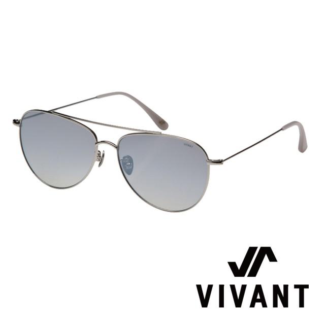 【VIVANT】韓國 率性飛行員框 太陽眼鏡(銀 - voller SLV)