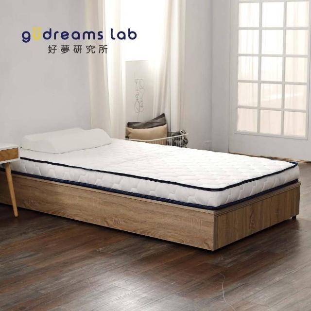 【Tronlife 好床生活】JD01釋壓好眠矮獨立筒雙人5尺(好攜好收舊床免丟獨立筒薄墊)