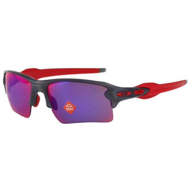【Oakley】水銀面 太陽眼鏡(灰黑配紅色)