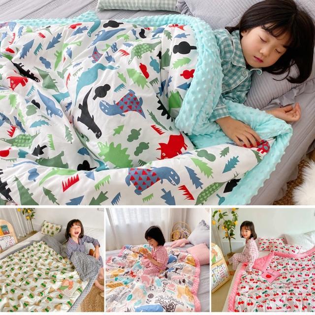 【Baby 童衣】嬰兒寶寶兒童豆豆毛毯 安撫蓋毯 120*150cm 88588(共4款)