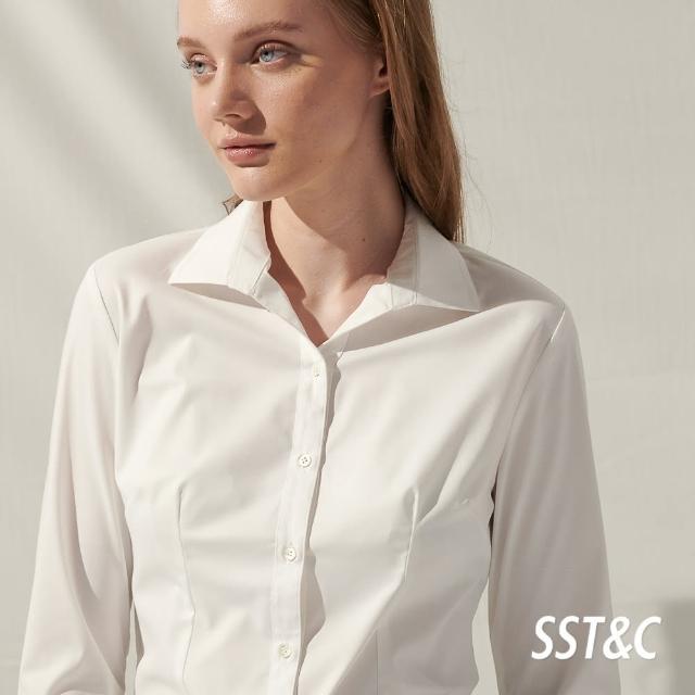 【SST&C】白色七分袖襯衫7562105007